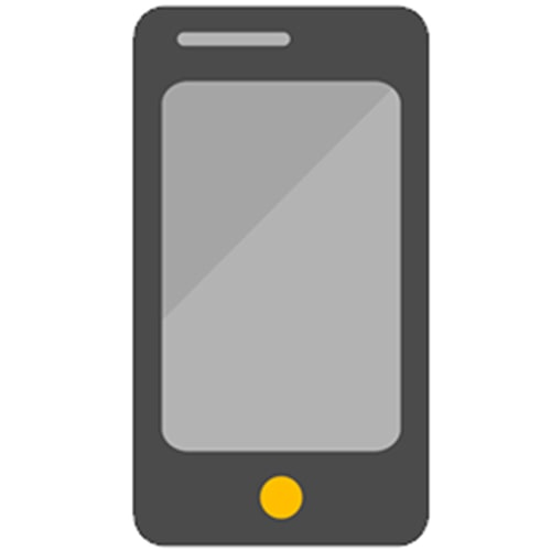Ícono smartphone integration